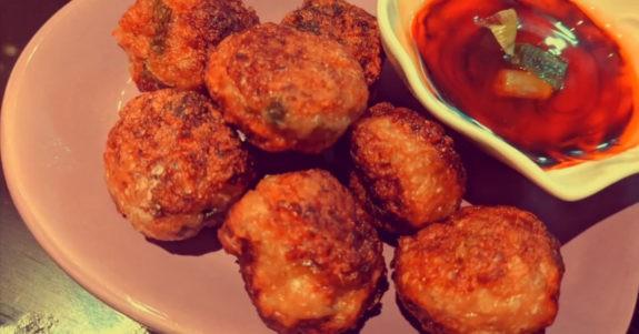 Savoury Chicken Balls
